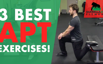 3 of the BEST Anterior Pelvic Tilt Stretches!