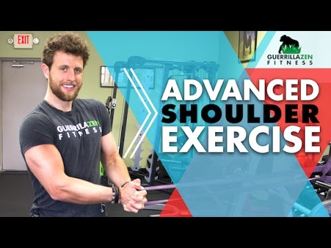 Advanced Shoulder Stability Exercise | TRY THIS! It's   hard…
